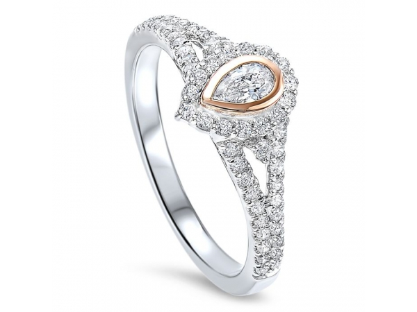 14KW/R 0.50TW ENGAGEMENT RING