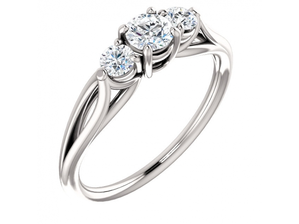 10KW 0.63TW DIAMOND RING 0.41CT I1 H-I CENTRE 2=0.22TW I1 H-I SHOULDER+