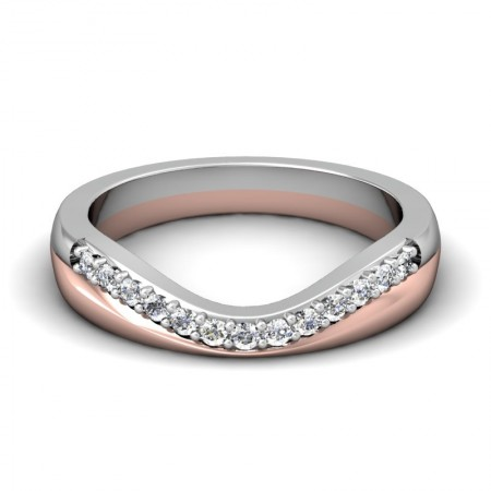 Wedding/Anniversary Ring by Loving Embrace (Curved Wedding Bands)
